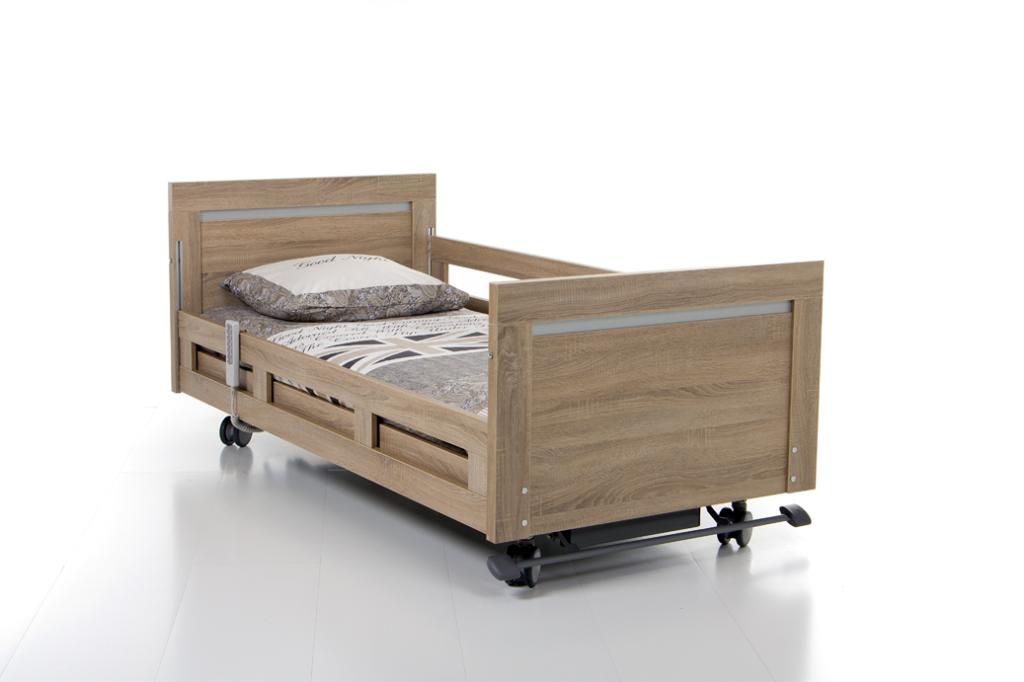 hoog laag bed, hooglaag bed, thuiszorgbed, anti decubitus matrassen, decubitus matras