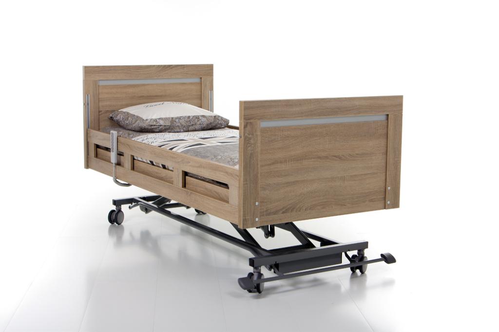 hoog laag bed, hooglaag bed, thuiszorgbed, anti decubitus matrassen, decubitus matra