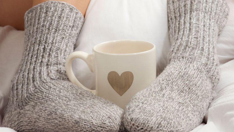 koude voeten in bed, dekbed wol, wollen dekbed